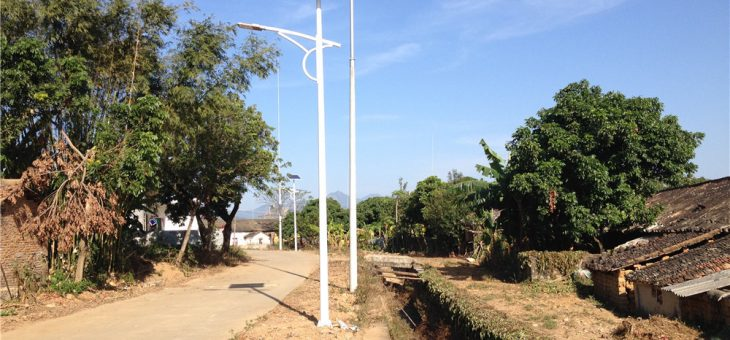 40W Solar Led Street Light in HUI ZHOU