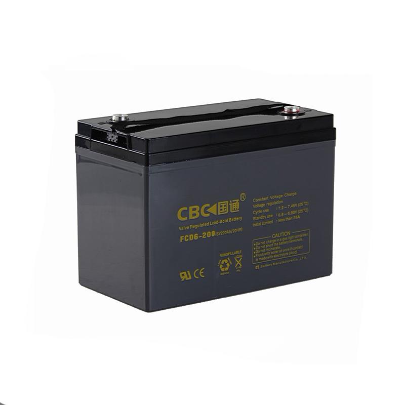 Deep cycle lead acid battery
